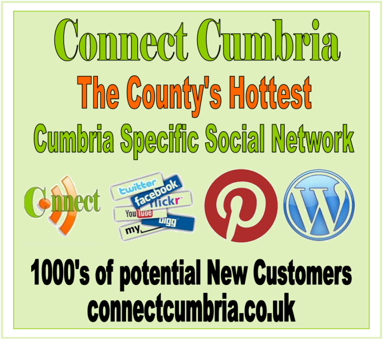 The Hottest Cumbria Specific Social Media Network  Connecting People Businesses and Organisations to build a Great Community of like minded people with one common interest -  CUMBRIA