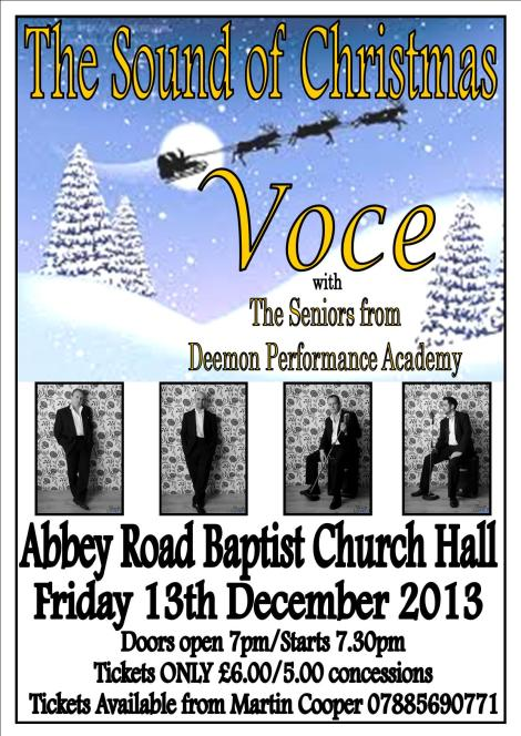 The Sound of Christmas ,Voce