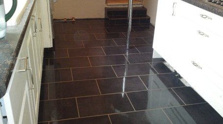 Furness Tile Supplies - WHERE YOUR CUSTOM IS VALUED NOT EXPECTED Brecon Black 330 x 600 Wall and floor Tile